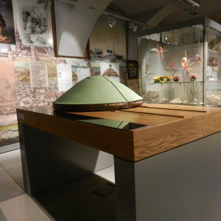 makieta kopca krakusa w muzeum podgórza