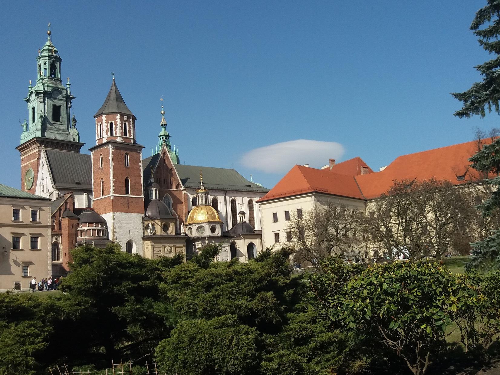 sierpień w Krakowie