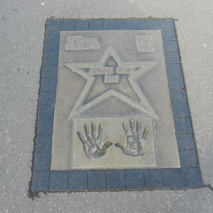 Krakowska aleja gwiazd pod wawelem